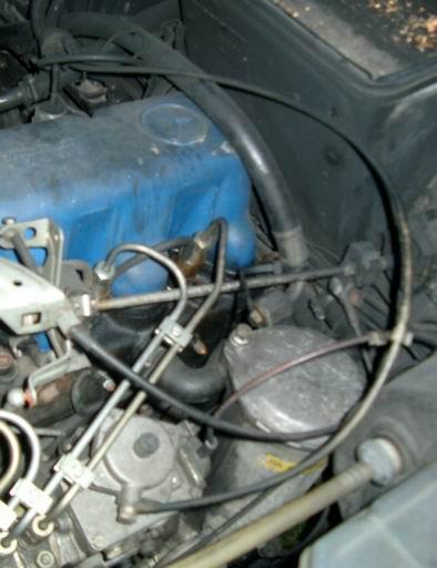 einstellen mercedes w107 automatikgetriebe
